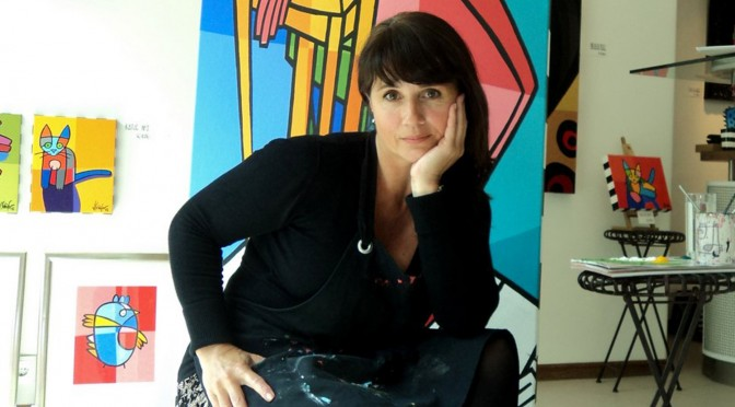 Jacqueline Schäfer - Artist, Painter (Crazy Birds and Strange Cows)