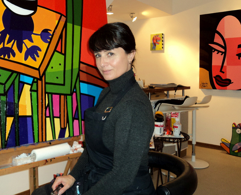 Jacqueline Schäfer - Artist of Paintings and Sculptures.
