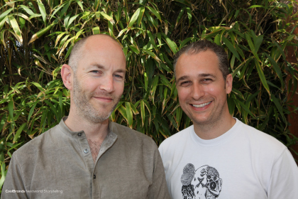 Daniele Fiandaca and Mark Chalmers - founders Creative Social