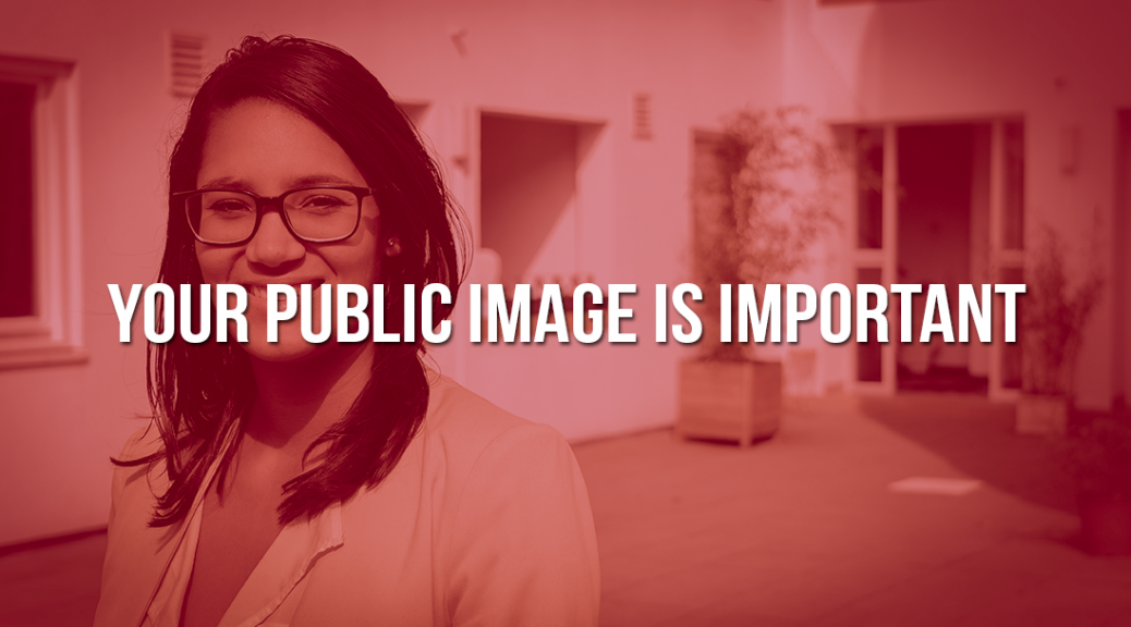 Your Public Image Is Important - CBNWS