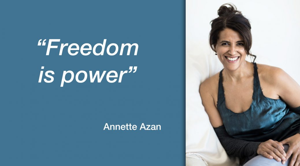 Annette Azan - Freedom is Power - Nuudii System